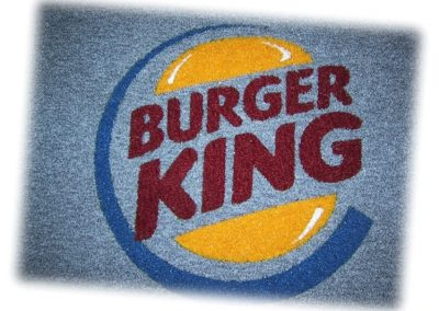 Felpudo personalizable Burguer King Amede