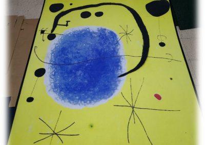 Felpudo personalizable dibujo Miró Amede